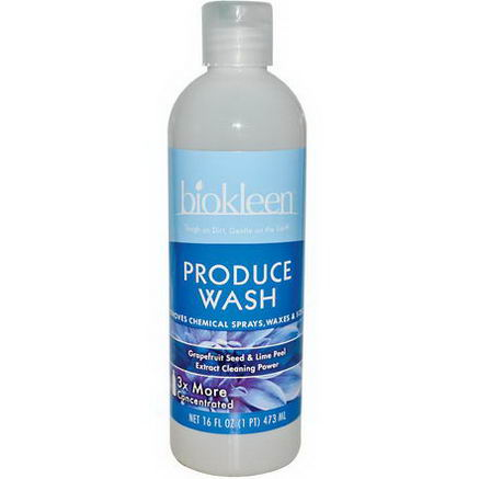 Bio Kleen, Produce Wash, 16 fl oz (473 ml)