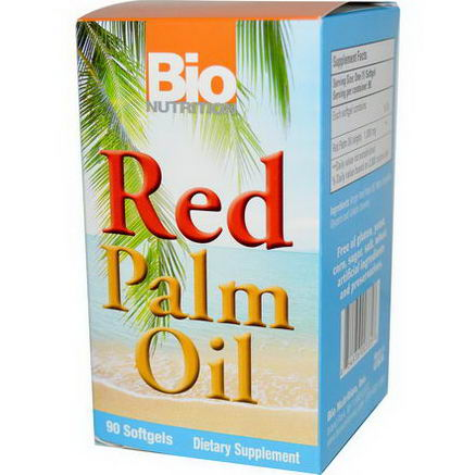 Bio Nutrition, Red Palm Oil, 90 Softgels