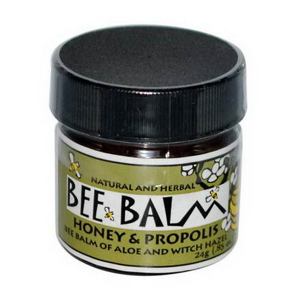 Black Hills Honey Farm, Bee Balm, Burn Ointment, Honey & Propolis, 0.85oz (24g)