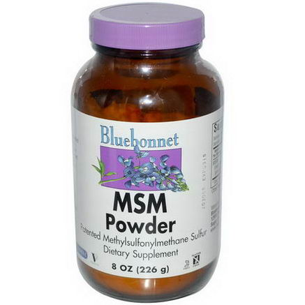 Bluebonnet Nutrition, MSM Powder, 8oz (226g)