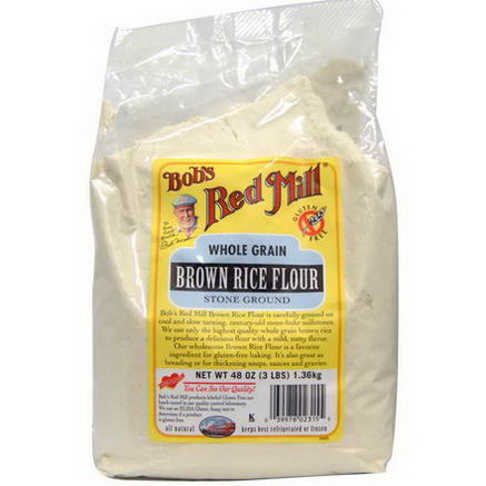 Bob's Red Mill, Brown Rice Flour, 48oz (1.36 kg)