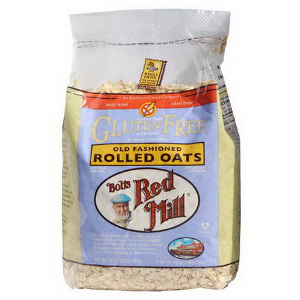 Bob's Red Mill, Gluten Free, Old Fashioned Rolled Oats, 32oz (907g)