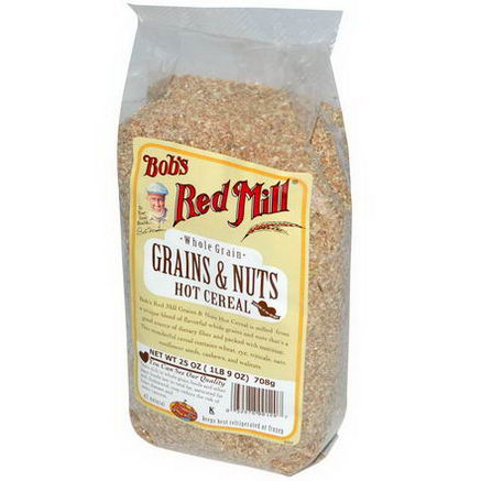 Bob's Red Mill, Grains & Nuts, Hot Cereal, 25oz (708g)