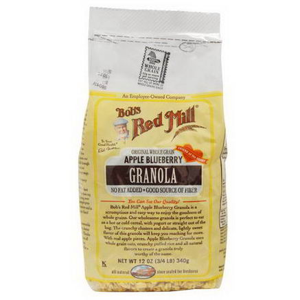 Bob's Red Mill, Granola, Apple Blueberry, 12oz (340g)