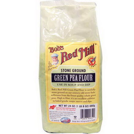 Bob's Red Mill, Green Pea Flour, 24oz (680g)
