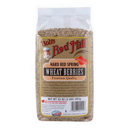 Bob's Red Mill, Hard Red Spring Wheat Berries, 32oz (907g)