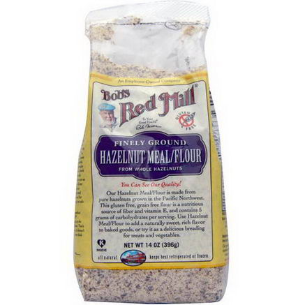 Bob's Red Mill, Hazelnut Meal/Flour, 14oz (396g)