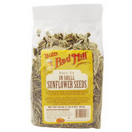 Bob's Red Mill, In Shell Sunflower Seeds, 20oz (567g)