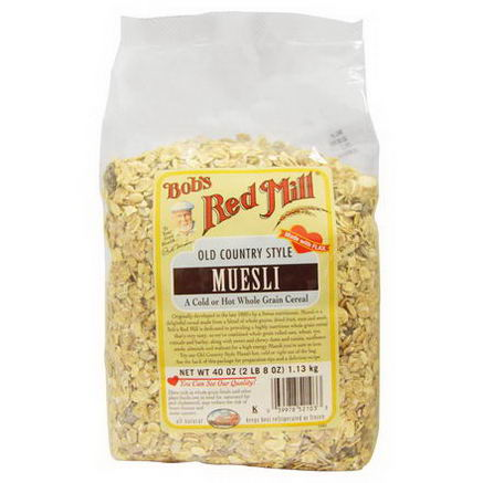Bob's Red Mill, Old Country Style Muesli, 40oz (1.13 kg)