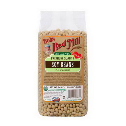 Bob's Red Mill, Organic Soy Beans, 24oz (680g)