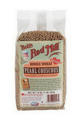Bob's Red Mill, Pearl Couscous, Whole Wheat, 16oz (453g)