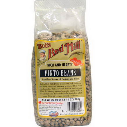 Bob's Red Mill, Pinto Beans, 27oz (765g)