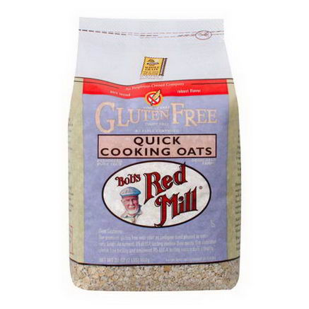 Bob's Red Mill, Quick Cooking Oats, Gluten Free, 32oz (907g)