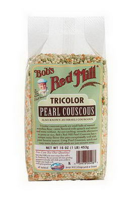 Bob's Red Mill, TriColor Pearl Couscous, 16oz (453g)