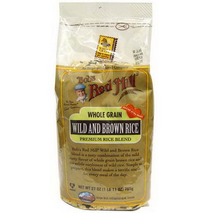 Bob's Red Mill, Wild and Brown Rice, 27oz (765g)