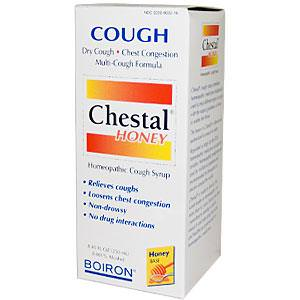 Boiron, Chestal Honey, Homeopathic Cough Syrup, 8.45 fl oz (250 ml)
