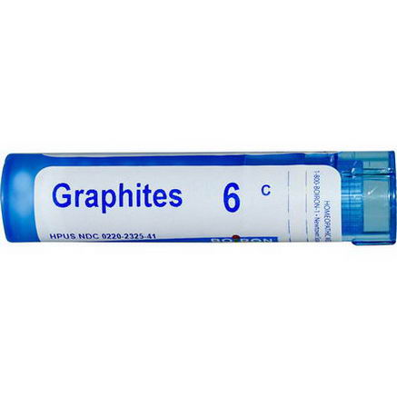 Boiron, Single Remedies, Graphites, 6C, Approx 80 Pellets