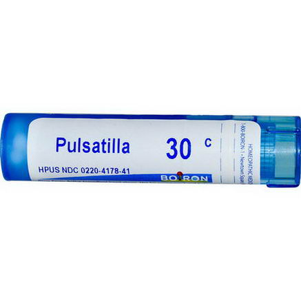 Boiron, Single Remedies, Pulsatilla, 30C, Approx 80 Pellets