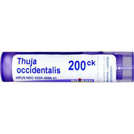 Boiron, Single Remedies, Thuja Occidentalis, 200CK, 80 Pellets