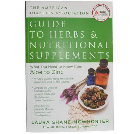 Books, American Diabetes Association Guide to Herbs & Nutritional Supplements, 191 Page Book