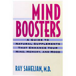 Books, Mind Boosters, Ray Sahelian M. D. 300 Page, Paper-Back Book