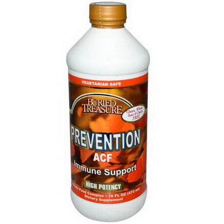 Buried Treasure, Prevention ACF, 16 fl oz (473 ml)