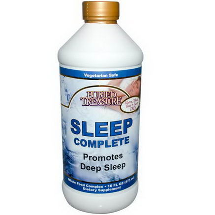 Buried Treasure, Sleep Complete, 16 fl oz (473 ml)