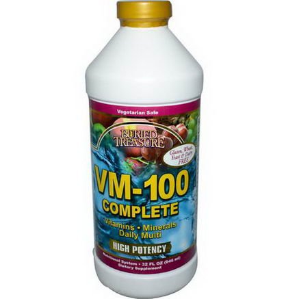 Buried Treasure, VM-100 Complete, 32 fl oz (946 ml)