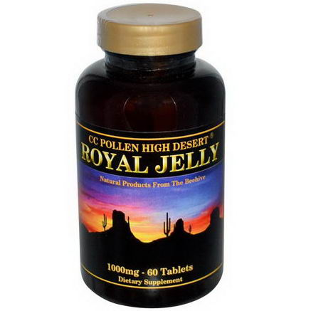 C. C. Pollen, Royal Jelly, 1000mg, 60 Tablets
