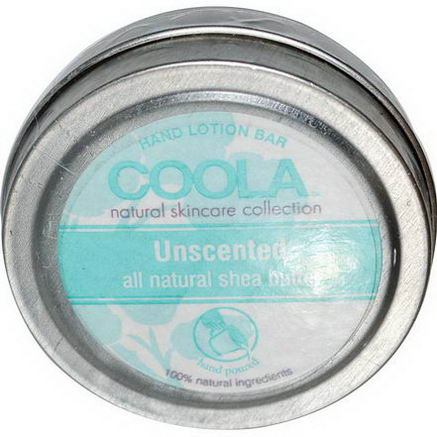COOLA Organic Suncare Collection, Hand Lotion Bar, Unscented, 50oz