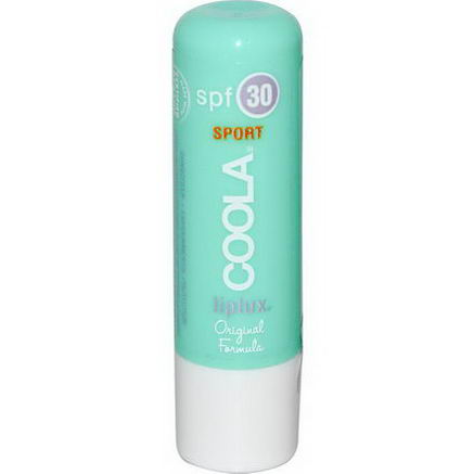COOLA Organic Suncare Collection, Sport, LipLux, SPF 30, Original Formula, 15oz (4.2g)