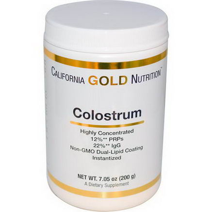 California Gold Nutrition, Concentrated Colostrum, 7.05oz (200g)