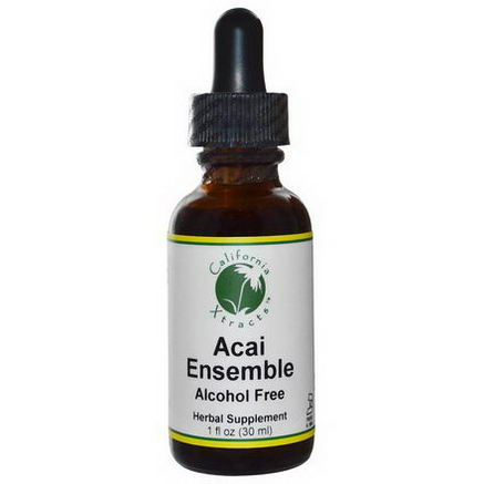 California Xtracts, Acai Ensemble, Antioxidant Formula, Alcohol Free, 1 fl oz (30 ml)