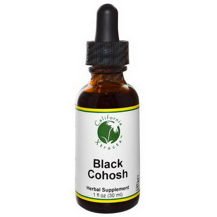 California Xtracts, Black Cohosh, 1 fl oz (30 ml)
