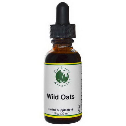 California Xtracts, Wild Oats, 1 fl oz (30 ml)