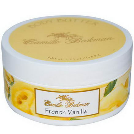 Camille Beckman, Body Butter, French Vanilla, 5.25oz (148.8g)
