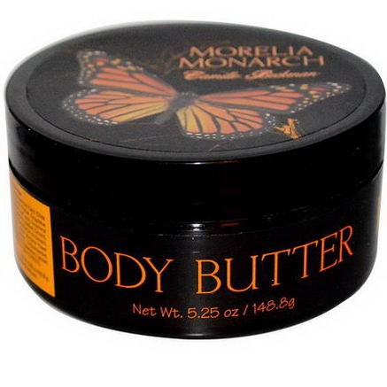Camille Beckman, Body Butter, Morelia Monarch, 5.25oz (148.8g)