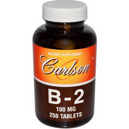 Carlson Labs, B-2, 100mg, 250 Tablets