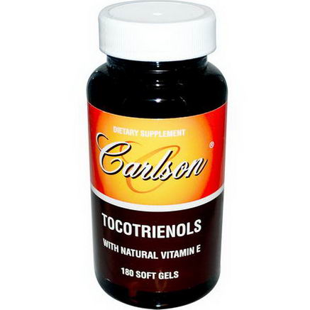 Carlson Labs, Tocotrienols with Natural Vitamin E, 180 Soft Gels