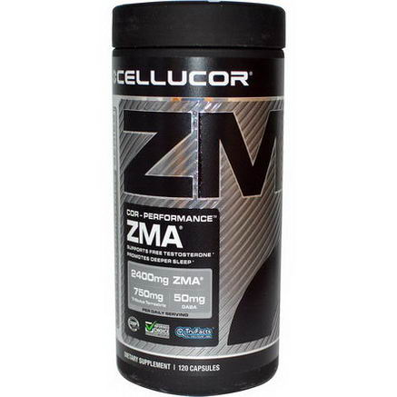 Cellucor, Cor-Performance Series ZMA, 120 Capsules