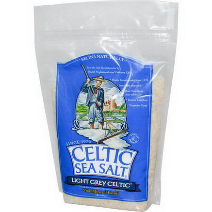 Celtic Sea Salt, Light Grey Celtic, Vital Mineral Blend, 1 lb (454g)