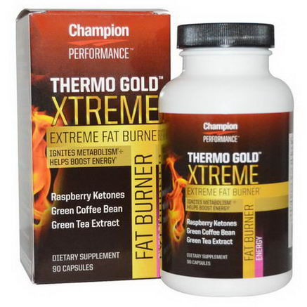 Champion Nutrition, Performance, Thermo Gold Xtreme, 90 Capsules
