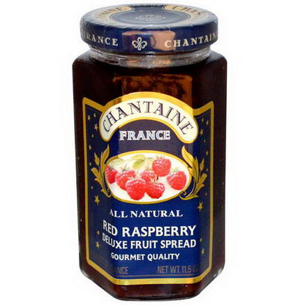 Chantaine, Deluxe Fruit Spread, Red Raspberry, 11.5oz (325g)
