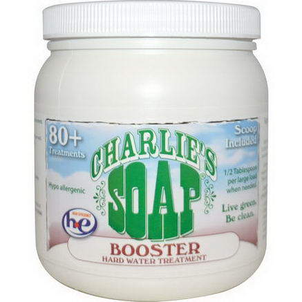 Charlie's Soap, Inc. Booster Hard Water Treatment, 2.64 lbs (1.2 kg)