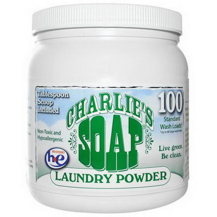 Charlie's Soap, Inc. Laundry Powder, 2.64 lbs (1.2 kg)