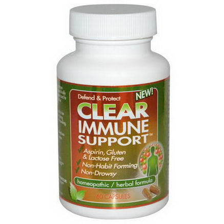 Clear Products, Immune Support, 60 Capsules