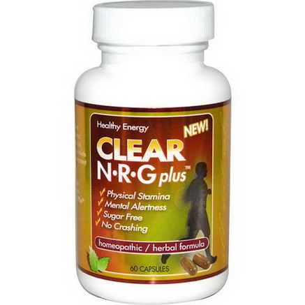 Clear Products, N-R-G Plus, 60 Capsules