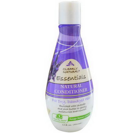 Clearly Natural, Natural Conditioner for Dry Damaged Hair, 12 fl oz (354 ml)