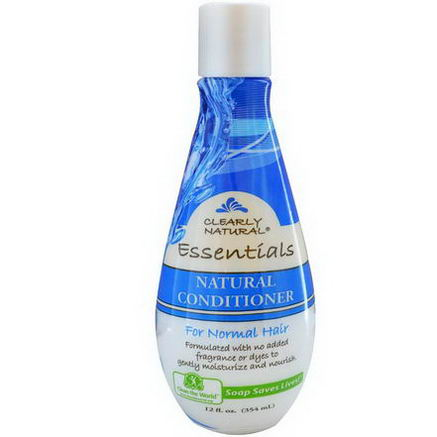 Clearly Natural, Natural Conditioner for Normal Hair, 12 fl oz (354 ml)