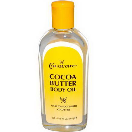 Cococare, Cocoa Butter Body Oil, 8.5 fl oz (250 ml)